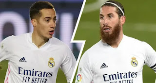 Lucas Vazquez and Ramos doubtful ahead of Levante game due to minor injury