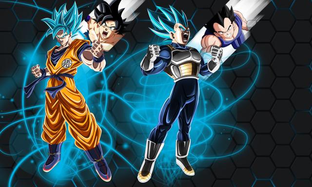 Top Goku And Vegeta Wallpaper From Dragon Ball Wallpaper Anime Wallpaper