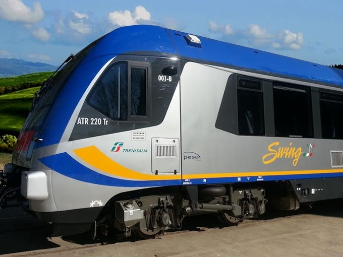 A Potenza il 3/06 inaugurazione di due nuovi treni Swing