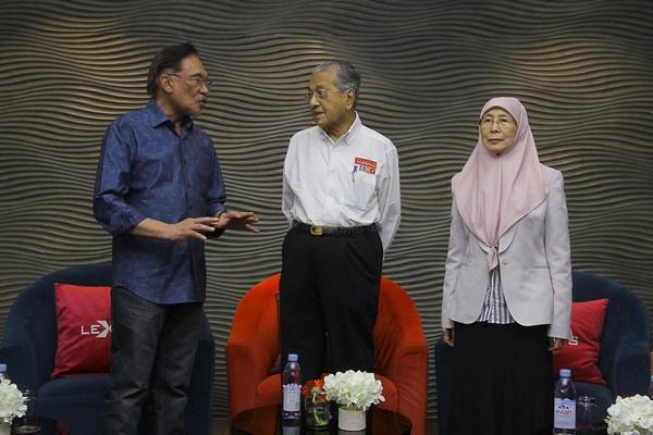 PKR terus beri sokongan padu kepada kepimpinan Tun Mahathir - Anwar