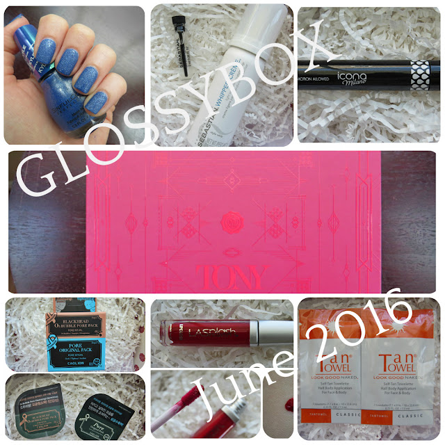 June 2016 GLOSSYBOX Review