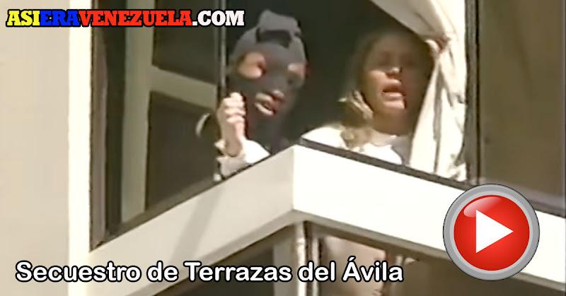 El Observador reportando el secuestro de Terrazas del Ávila en directo