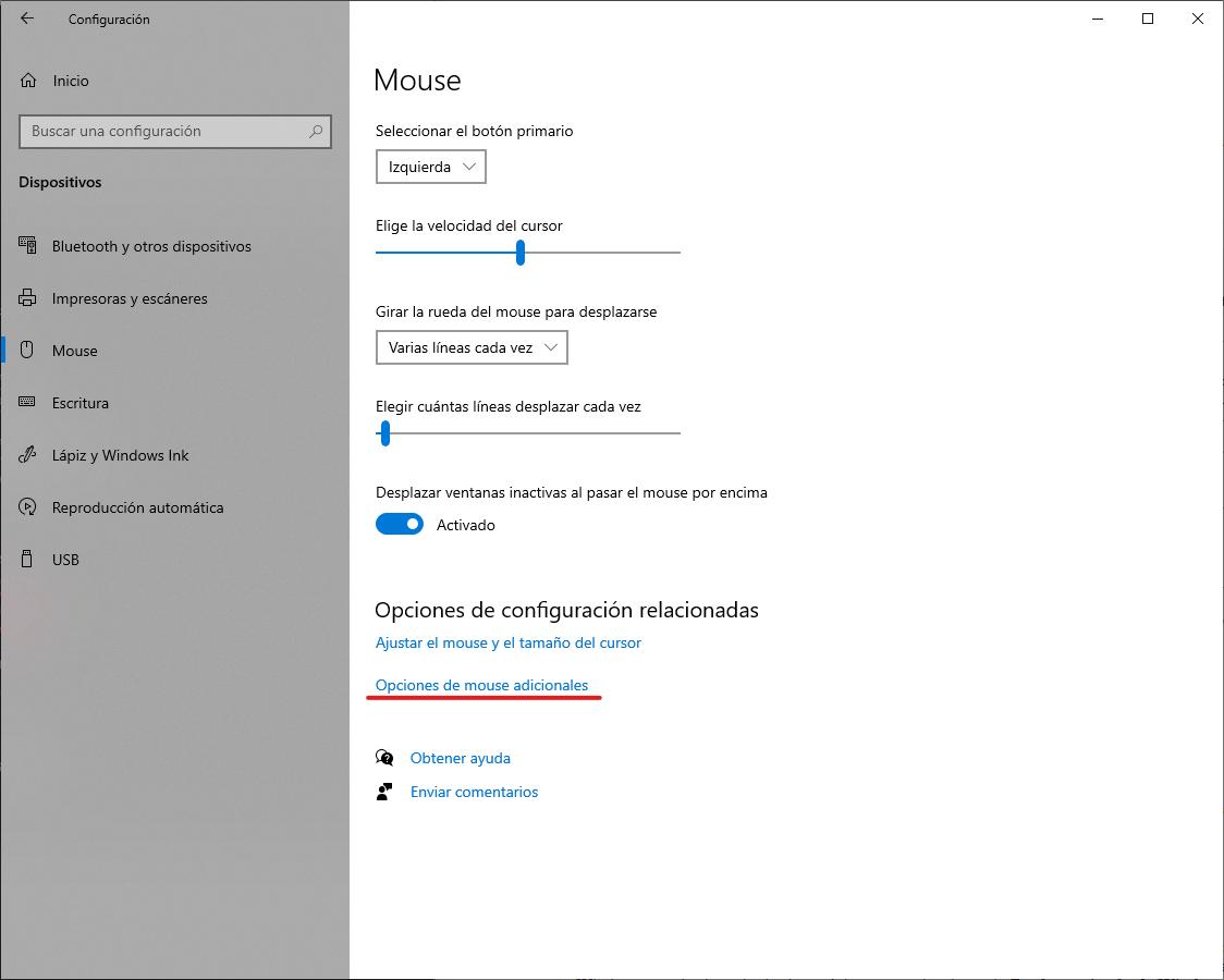 Aplicar los cursores de Apple en Windows 10