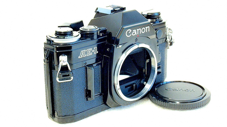 Canon AE-1 (Black) Body #370