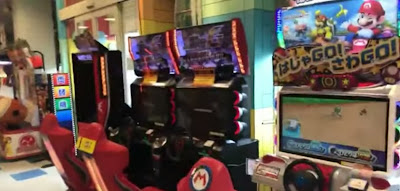 Crayon Shin Chan game centre in Japan