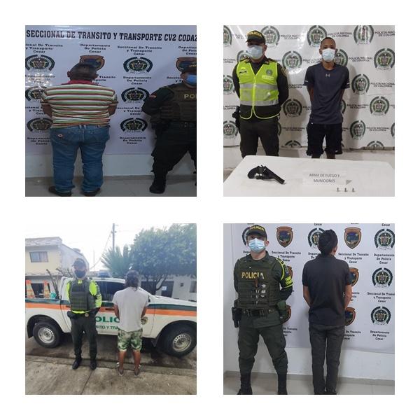 hoyennoticia.com, En el Cesar cuatro ordenes de captura ejecutó Policía