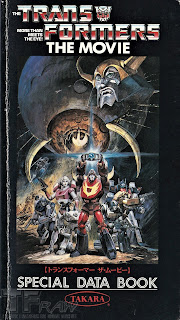 Transformers The Movie Special Data Book