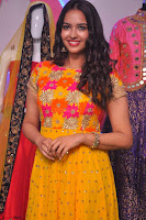 Pujitha in Yellow Ethnic Salawr Suit Stunning Beauty Darshakudu Movie actress Pujitha at a saree store Launch ~ Celebrities Galleries 042.jpg