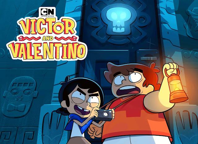 Cartoon Network anuncia a estreia de Victor e Valentino, a nova série original do canal