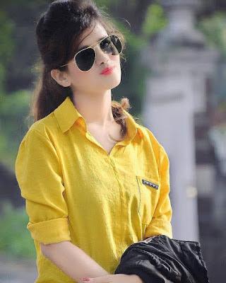 best attitude dp for girls