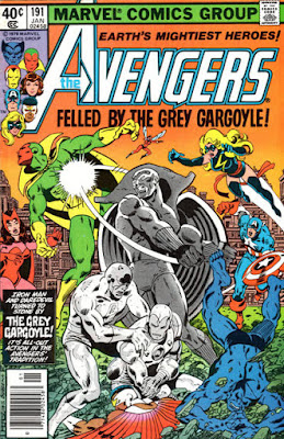 Avengers #191, the Grey Gargoyle