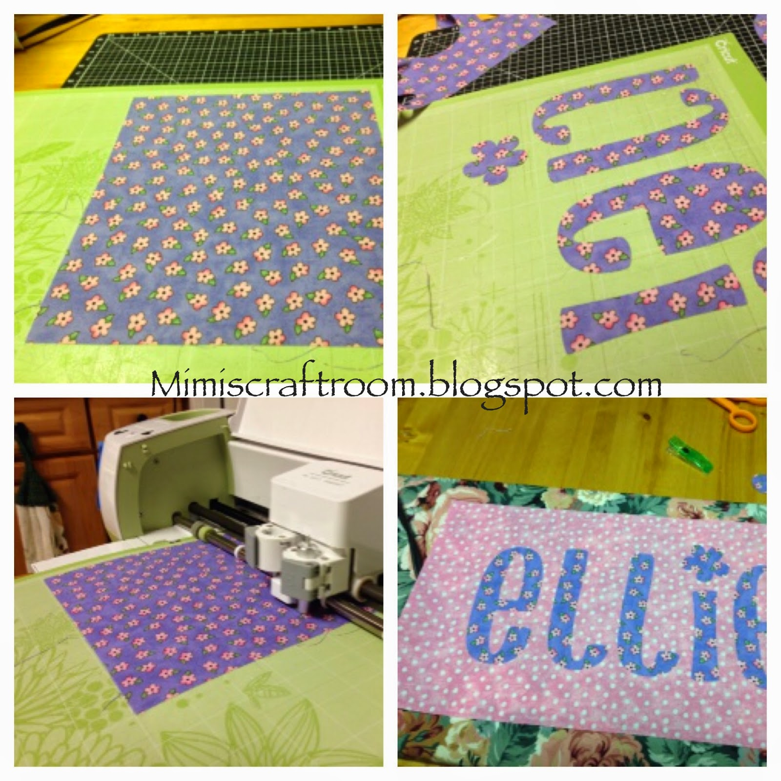 Mimi S Craft Room Cutting Fabric With The Cricut Explore