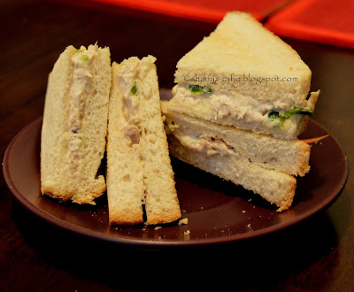 Creamy Chicken Sandwich