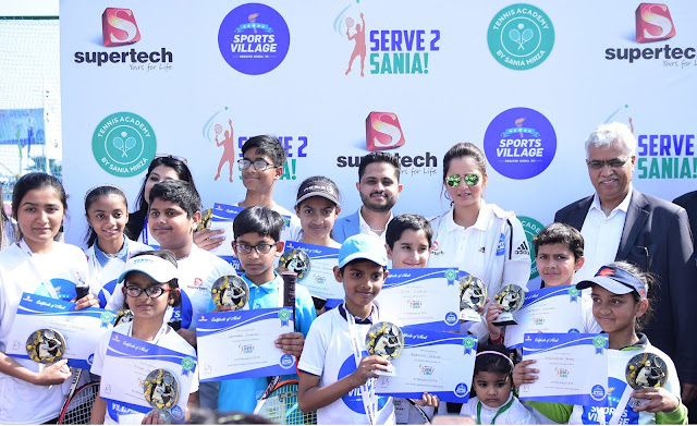 Sania Mirza endorses Supertech Sports Village