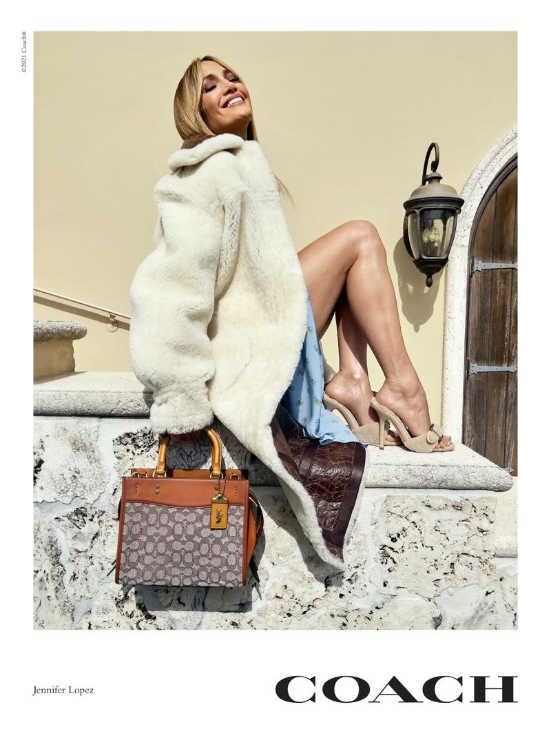 Jennifer Lopez stars in Coach Rogue Bag campaign