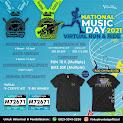 National Music Day – Virtual Run & Ride • 2021