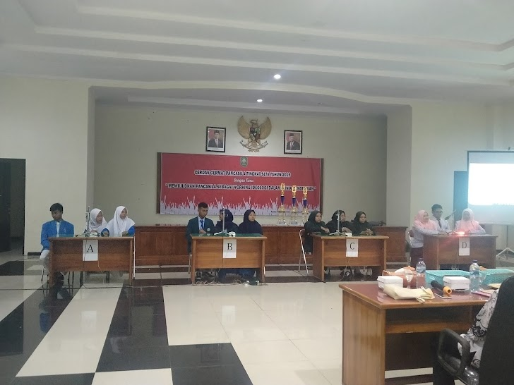 SMK Muhammadiyah Trenggalek Ikuti Lomba Pancasila Kesbangpol 2019