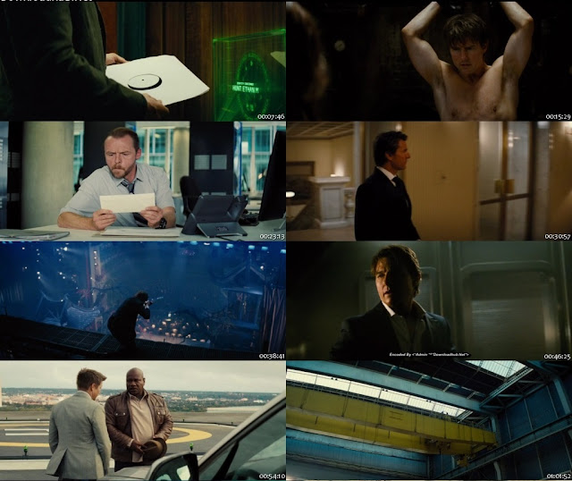 Mission Impossible Rogue Nation 2015 Dual Audio Movie in 720p BluRay