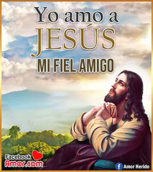 imágenes con frases de Jesús amigo