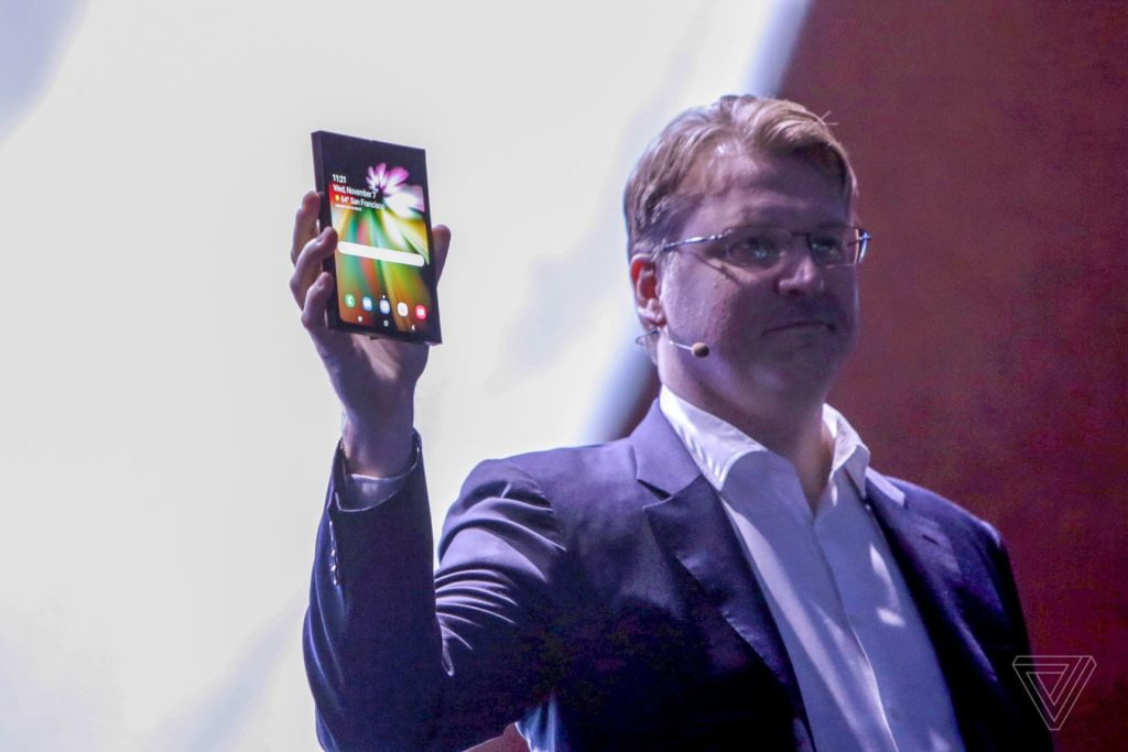 Samsung Unveils its First Foldable Smartphone [Updated: Demo Video]