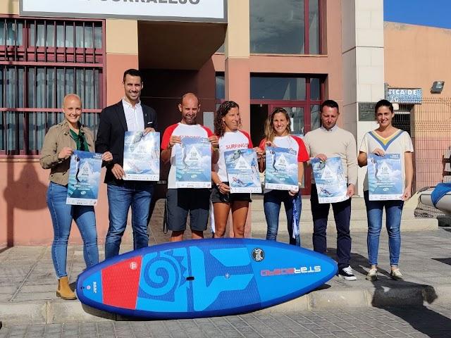 Fuerteventura  capital  nacional del Stand Up Paddle con los Campeonatos de España y la Copa este fin de semana