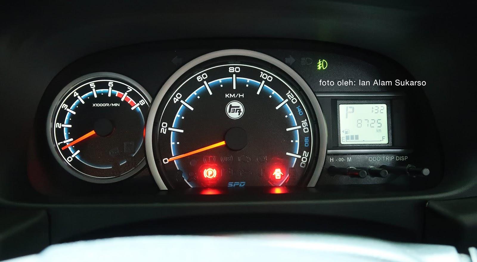 Speedometer Toyota Calya Custom