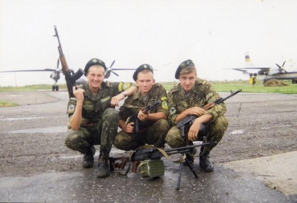Десантна частина в складі Прикордонних військ України