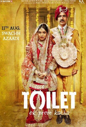 Toilet Ek Prem Katha 2017 HDTV 480p Hindi 400MB Download HD