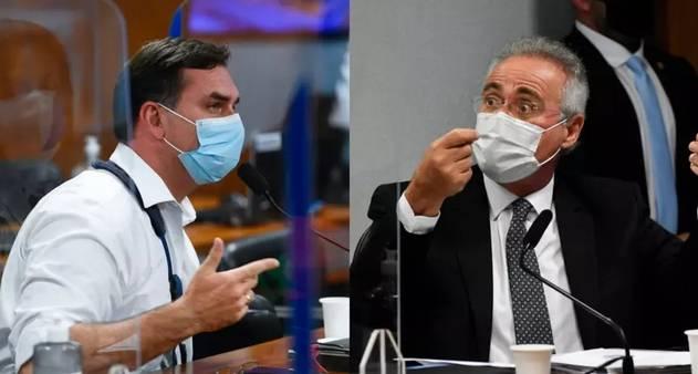 Relator da CPI bate boca com filho do presidente na comissão