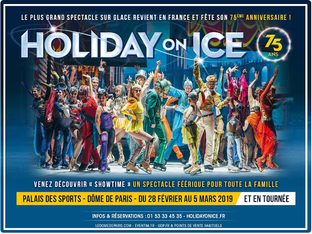 Showtime  de Holiday on Ice : retour sur 75 ans de spectacle