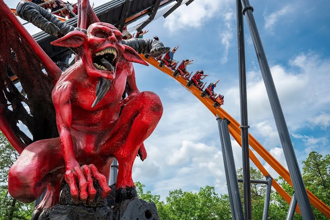 Six Flags Great Adventure inaugura Jersey Devil Coaster - Atualização 10