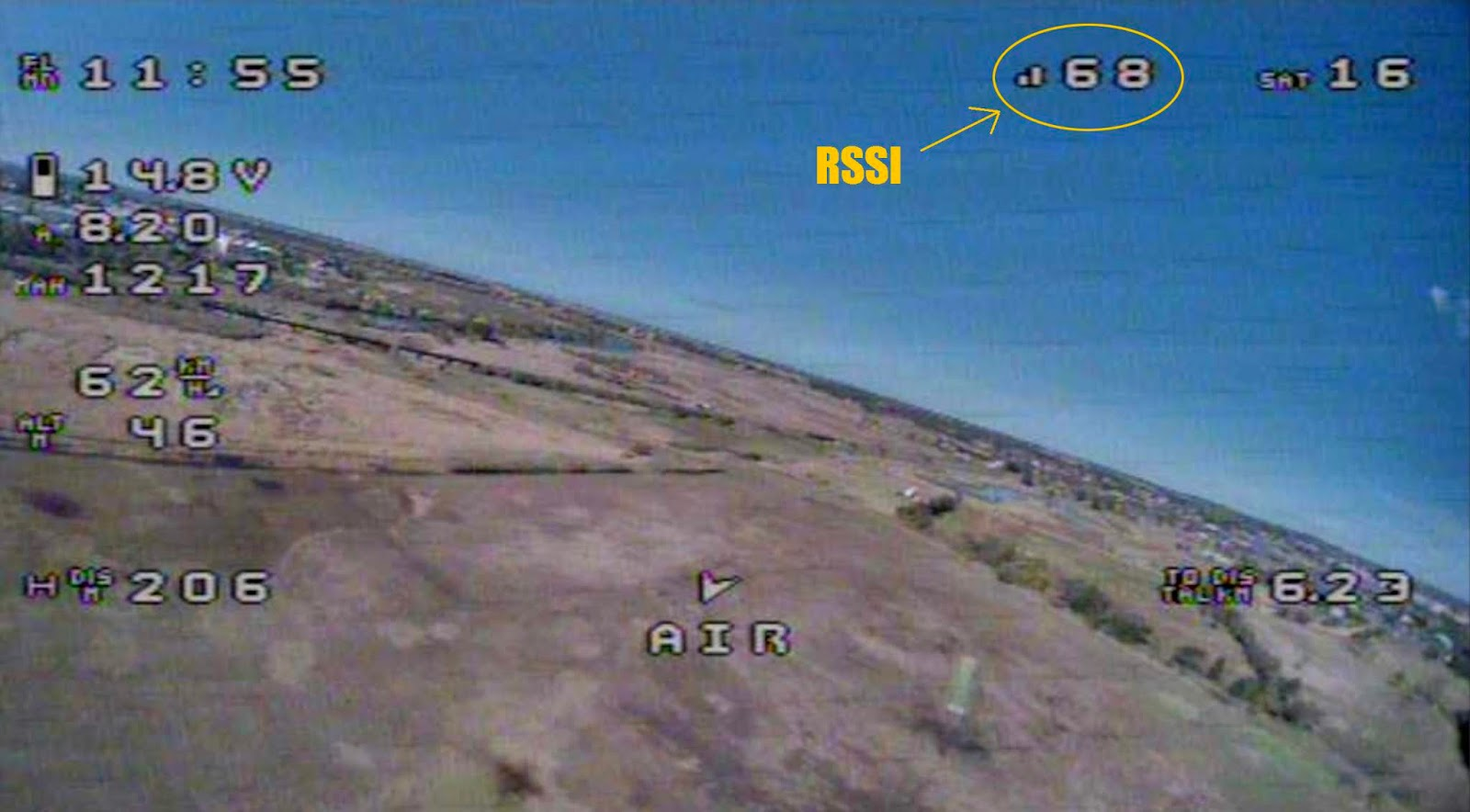 Newton Airlines: RSSI for iNav - X8R L9R XM+
