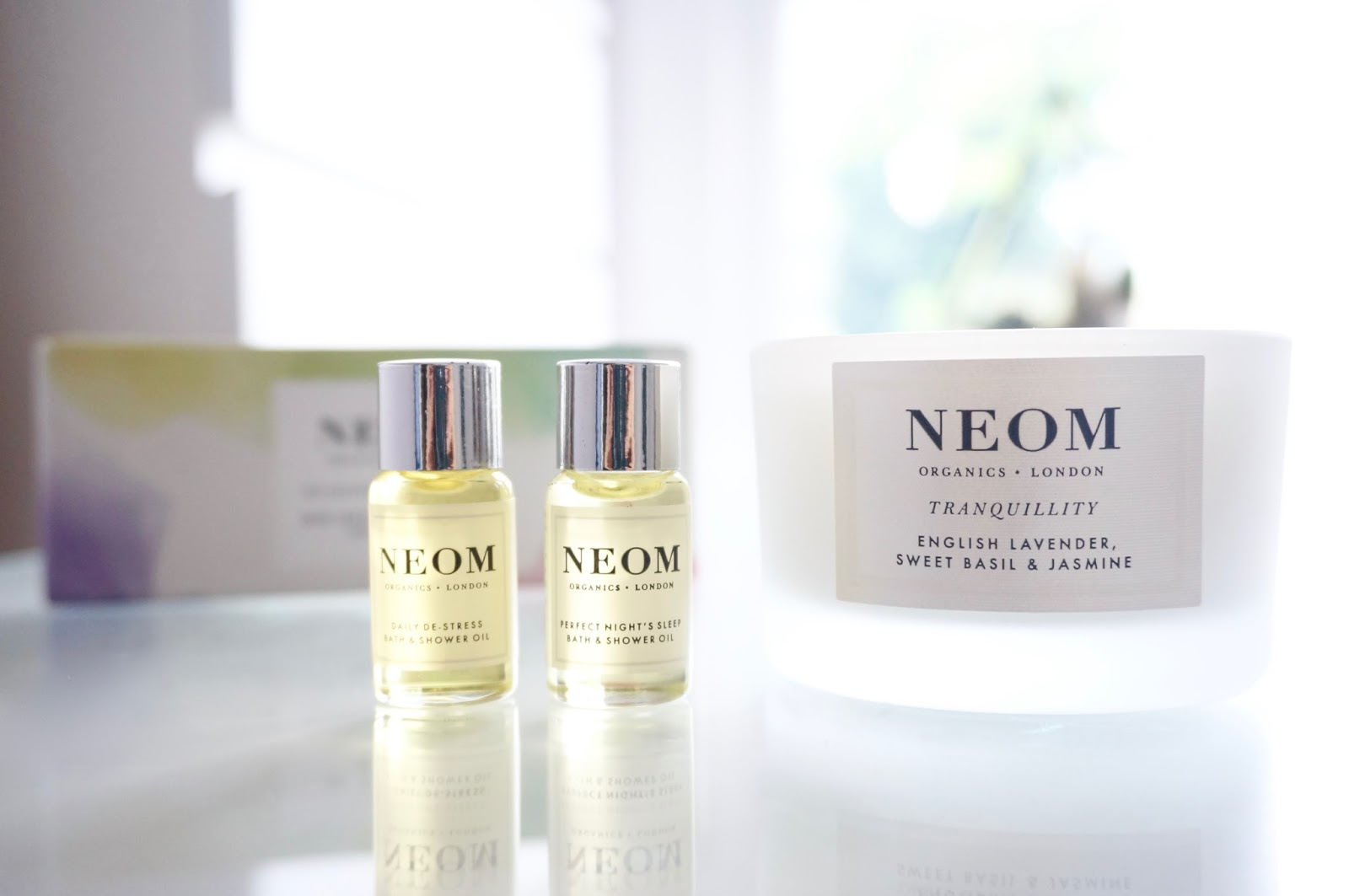 Neom Blissful Nights in Bath and Shower Oils