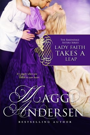 Lady Faith Takes a Leap - The Baxendale Sisters