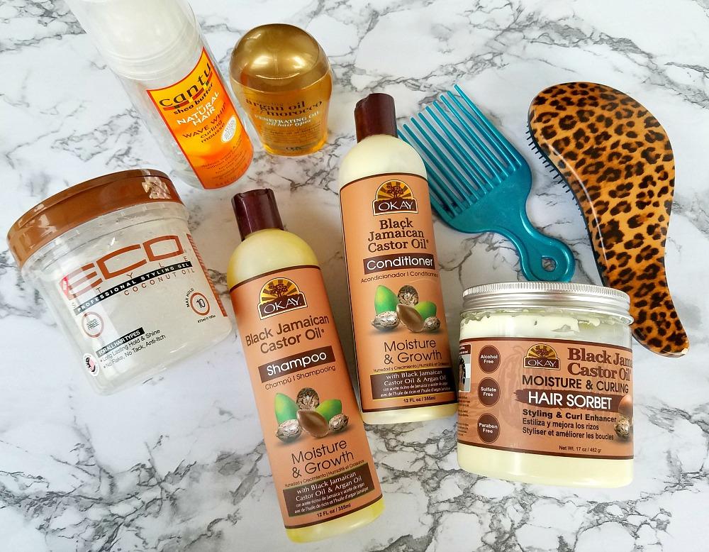 wash day routine natural hair