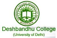 Deshbandhu College 1st Cut Off List 2016