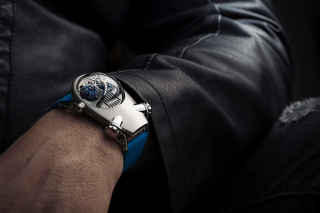 MB&F Horological Machine No.10 Bulldog in titanium