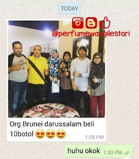 Testimoni Dexandra, Orang Brunei Borong Dexandra,Perfume Dexandra,Dexandra