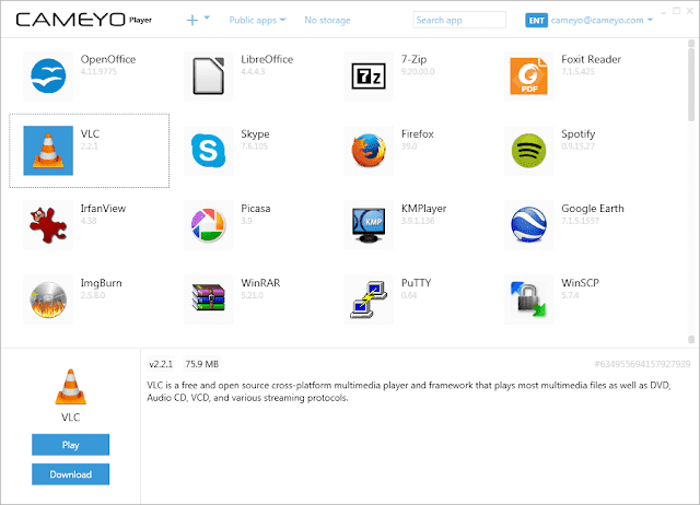 Screenshot Cameyo Pro 3.1.1530 Full Version