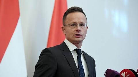 Szijjártó Péter máris reagált az ukrán elnök gesztusára