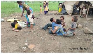 MP dalit family
