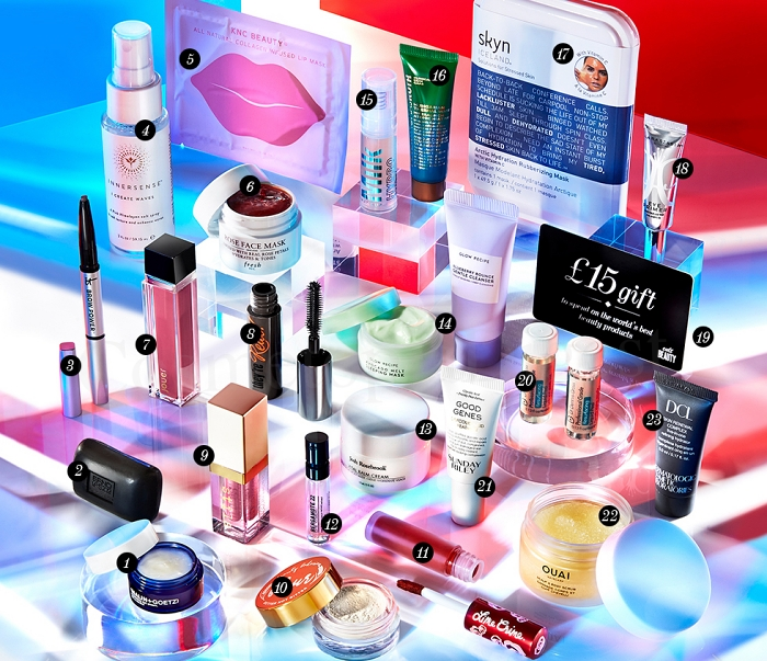 Here are the full contents and spoilers of the Cult Beauty The USA Goody Bag for Autumn 2019, a gift with purchase now available worldwide.