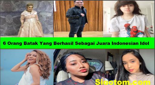 6 Orang Batak Yang Berhasil Sebagai Juara Indonesian Idol