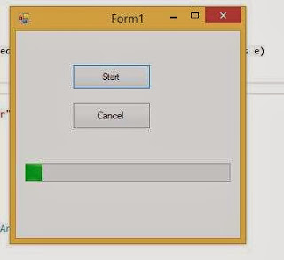 How to use Background control in windows form c#