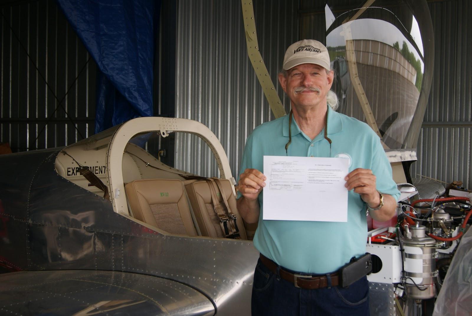 Dog Aviation Johns Rv 12 Blog Repairman Certificate Granted By Faa
