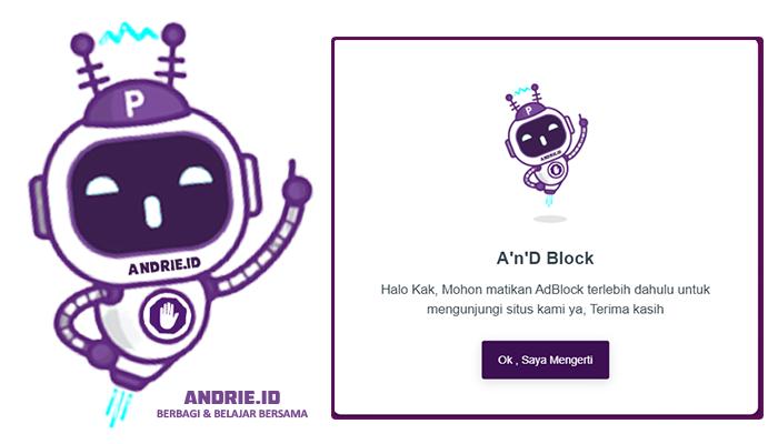 Cara Termudah Memasang Script Anti AdBlock di Blogger Imut dan Unyu