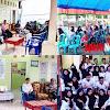 Camat Moncongloe, Hadiri Acara Perpisahan KKN Mahasiswa Universitas Mega Reski