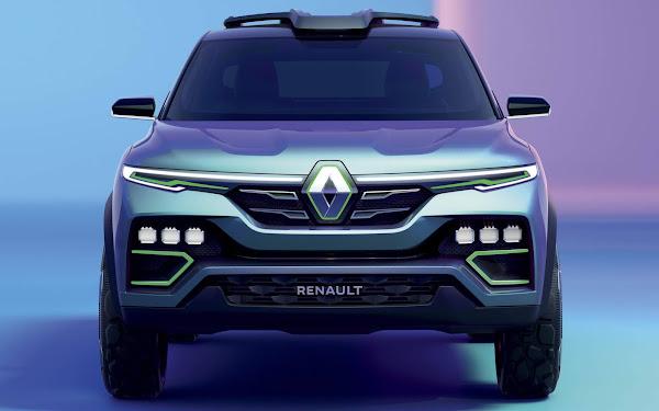 Renault Kiger - SUV do Kwid é apresentado para Índia