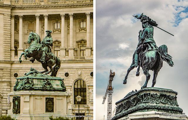Estátuas do Hofbburg, Viena