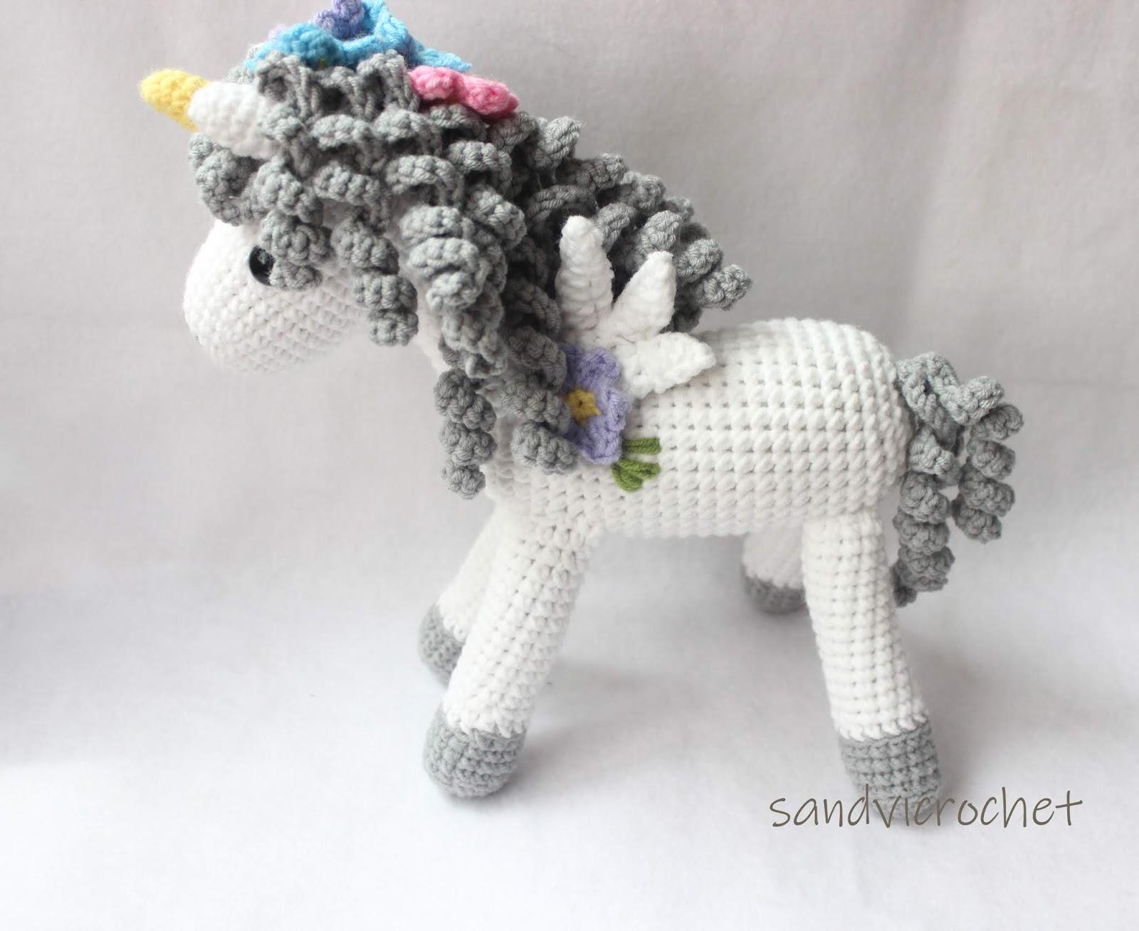 sandvicrochet: Amigurumi Unicorn
